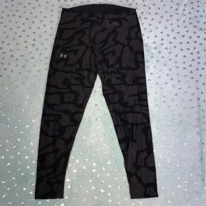 Under Armour ColdGear Gray Camo Tight Pants